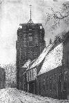 75. Torenstraat Leeuwarden zwart/wit