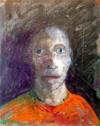 Zelfportret zoon (30x24)